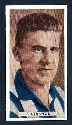 ARDATH FAMOUS FOOTBALLERS 1934 -A. STRANGE-SHEFFIELD WEDNESDAY No.2
