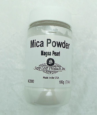 Mica Powder MAGNA PEARL Fusing Flameworking Craft 100g 3.5 oz Pixi Dust