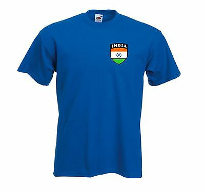 India Indian Cricket Supporters National Team Royal T-Shirt - All Sizes