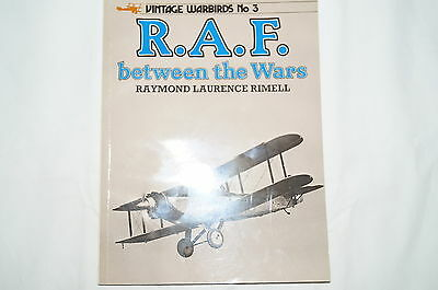 British RAF Between the Wars Vintage Warbirds 3 Reference Book