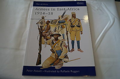 WW1 Armies in East Africa 1914-1918 Osprey Reference Book