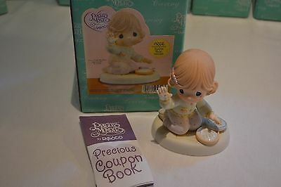 2003 Precious Moments Love From The First Impression Figurine 115899