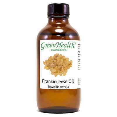 4 fl oz Frankincense Essential Oil Pure & Natural by Green Health