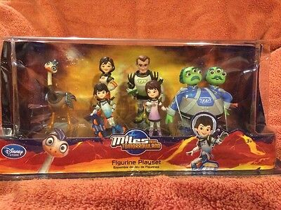Disney Figure Play Set Miles from Tomorrowland Leo Merc Miles Phoebe Cake Topper