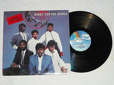 READY FOR THE WORLD (1985) DJ/Promo MCA LP w/Oh Sheila