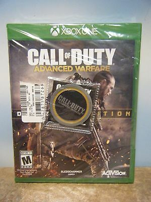 Xbox One Call Of Duty Advanced Warfare Day Zero Edition Video Game & Coin *new*