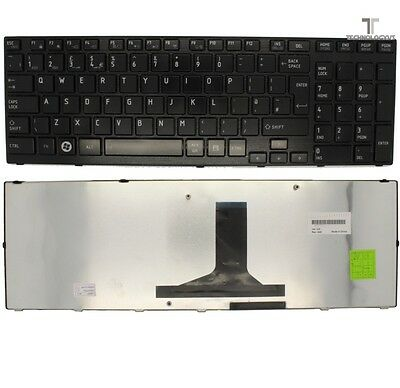 For New P750-13L Toshiba Satellite Notebook Laptop Keyboard Black Uk
