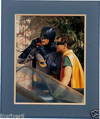 ADAM WEST Signed Photograph - Film & TV Star 'BATMAN'