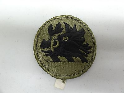 Military Patch Us Army Subdued For Shoulder Sew On Georgia National Guard