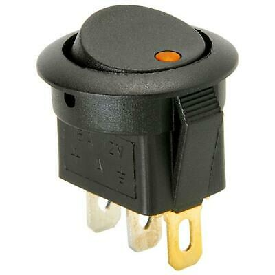 On Off Toggle Push Button Electrical Component Amber Led Switch 12V Replacement