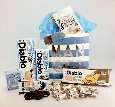 Mens gifts executive golf presents for fathers day dad brother dad gift bag diabetic sugar free food hamper birthday get well fathers day negle Images