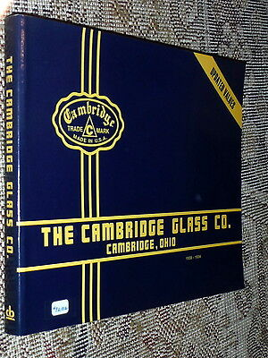 The Cambridge Glass Co. 1930-1934,G+,SB,1996   H