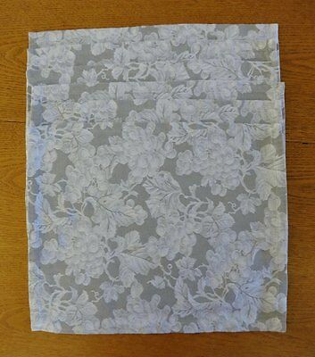 Williams-Sonoma Made in Italy 6 Placemats Grape Pattern