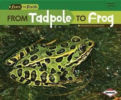NEW From Tadpole to Frog by Shannon Zemlicka Paperback Book (English) Free Shipp