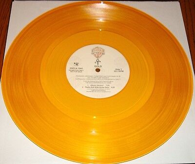 Prince Gold Promotional Only Gold Vinyl Promo Lp 1995