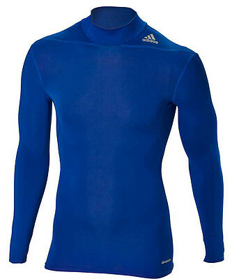 adidas Techfit Base Longsleeve W MOC royal/blue (D82117) Fitness, Sport, BJJ,MMA