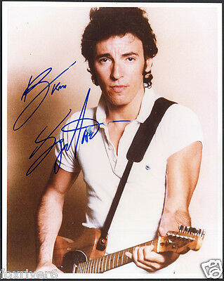 BRUCE SPRINGSTEEN Signed Photograph - Rock Singer