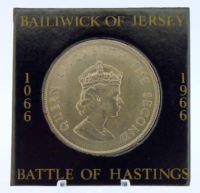 1966 Battle of Hastings Anniversary 1066 Uncirculated Jersey Crown
