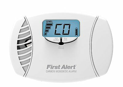 NEW First Alert CO615 Carbon Monoxide Detector With Battery Backup