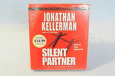 Silent Partner No4 by Jonathan Kellerman 2003 CD Abridged Audiobook Compact Disc