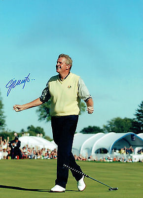 Colin MONTGOMERIE Signed Autograph 16x12 Ryder Cup Winner GOLF Photo AFTAL COA