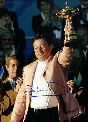 Ian WOOSNAM Signed Autograph 16x12 Ryder Cup Winner GOLF Photo AFTAL COA