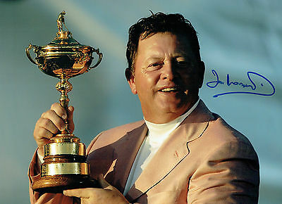 Ian WOOSNAM Signed Autograph 16x12 Ryder Cup The K Club GOLF Photo AFTAL COA