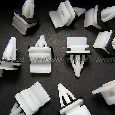 30x Side Skirt Sill Seal Panel Mounting Trim Clips For Acura Honda Accord Civic