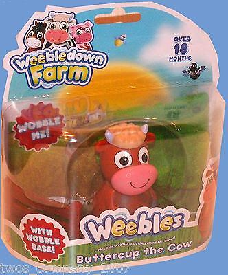 Weebles Buttercup The Cow From Weebledown Farm New