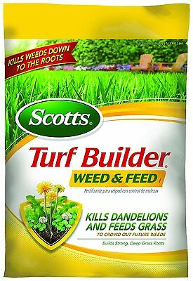 Scotts Turf Builder Lawn Food - Weed and Feed, 5,000-sq ft (Lawn Fertilizer p...