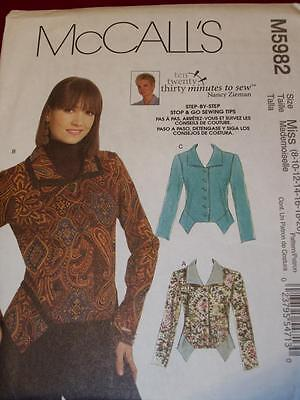 4 HOUR UNCIRCULATED McCALL/'S #8083 LADIES LOOSE JACKET PATTERN  8-24 FF