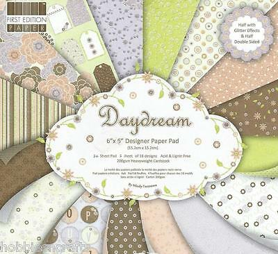 Dovecraft Daydream Papers 6 X 6 Sample Pack  16 Sheets - Please Read Description
