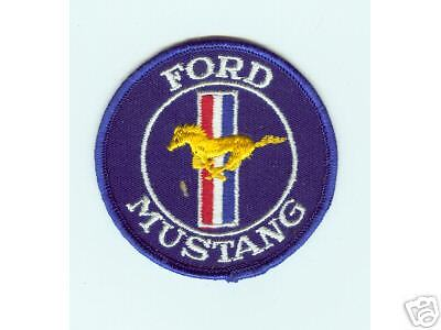 "Vintage (1970) "" Ford Mustang""  Patch New"