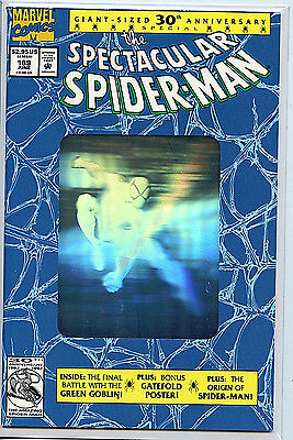 Spectacular Spider-man #189 2X Copies1995 NM/M 1st Print Silver Hologram Cover