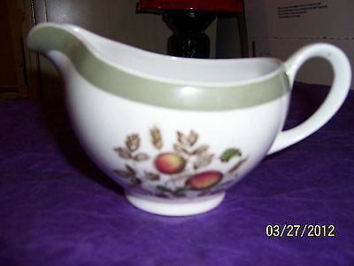 Hereford Alfred Meakin Creamer Staffordshire England A Hand engraved Pattern