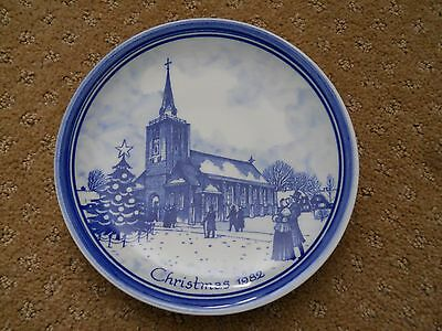DELFT HOLLAND CHRISTMAS PLATE 1982