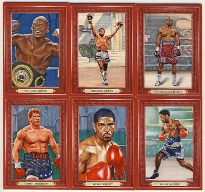 2011 Ringside Boxing Round 2 Turkey Red 64-Card Insert Set (94-157)