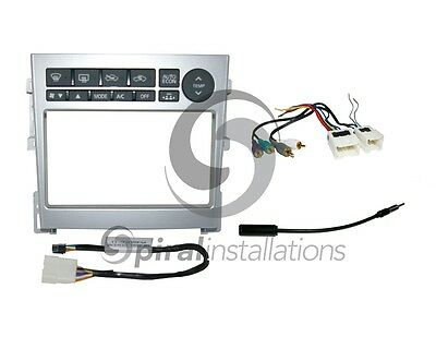 Radio Stereo Installation Dash Kit Combo DD + AMP Wire Harness + Antenna IN1