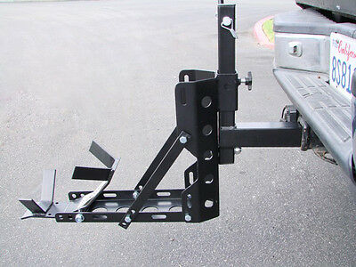 Lightweight & Portable Motorcycle MX Trailer Carrier Tow Dolly Hauler Rack Hitch
