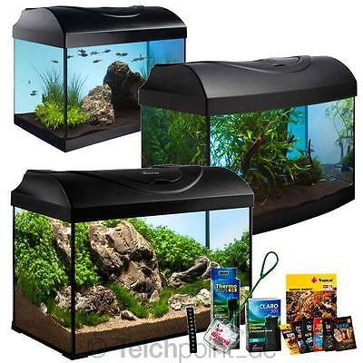 Diversa Aquarium StartUp Set- Einsteiger Serie, Glasbecken Aquariumset Nano