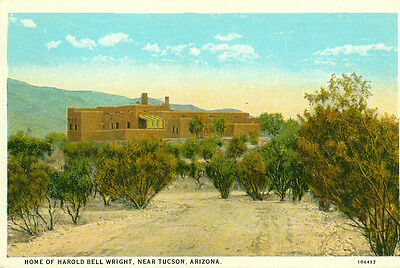 Tucson,AZ. The Home of Harold Bell Wright