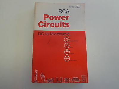 RCA Power Circuits-DC to Microwave 1969 TV Electronics Service