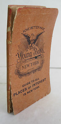 YOUNG BROTHERS Hats New York 1914 Advertising Calendar Memo Booklet