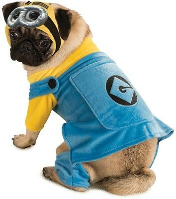 Pet Dog MINION Printed Pet Outfit, Despicable Me Costume