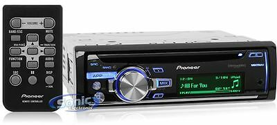 Pioneer DEH-X7600S In-Dash CD/MP3/USB/AUX/iPod/Android Car Stereo Receiver