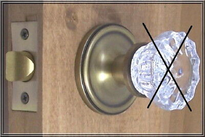 Value Lot of 2 Retrofit Rosettes-Install Antique Knobs in Any Door-Old Ant.Brass