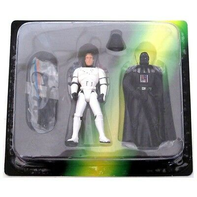 Star Wars Escape from the Death Star Figures Han Solo in Disguise Darth Vader