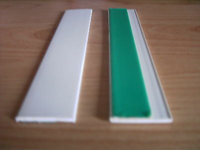 Flat window profile bar PVC 30mm white