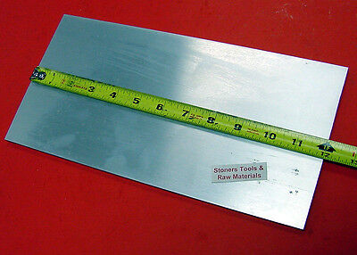 "2 Pieces 1"" X 10"" ALUMINUM 6061 FLAT BAR 12"" long Solid T6511 Plate Mill Stock"