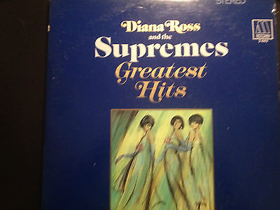 33-113 DIANA ROSS AND THE SUPREMES GREATEST HITS/2 LP MOTOWN 2-663